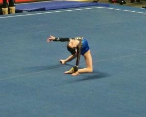 Gem State Invitational 2015 Floor Dance Move - Level 7