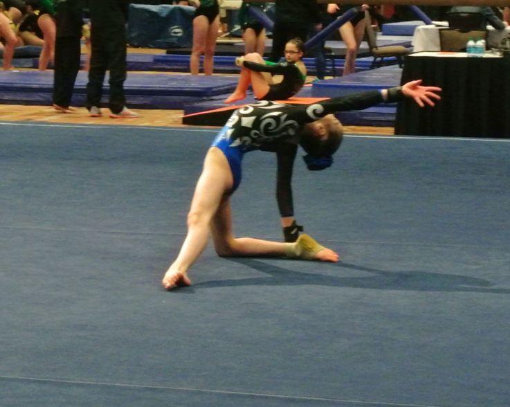 Battle in Bellevue 2015 Floor Final Dance Pose - Level 7