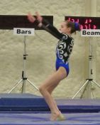 Queen of Hearts Invitational 2015 Vault 2 Landing - Level 7