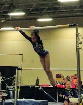 Queen of Hearts Invitational 2015 Bars Giant - Level 7