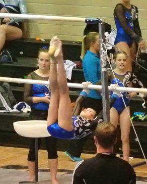 Idaho State Championships 2015 Bars Kip - Level 7