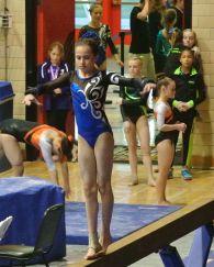 Idaho State Championships 2015 Beam Turn - Level 7