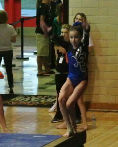 Idaho State Championships 2015 Beam Dismount - Level 7