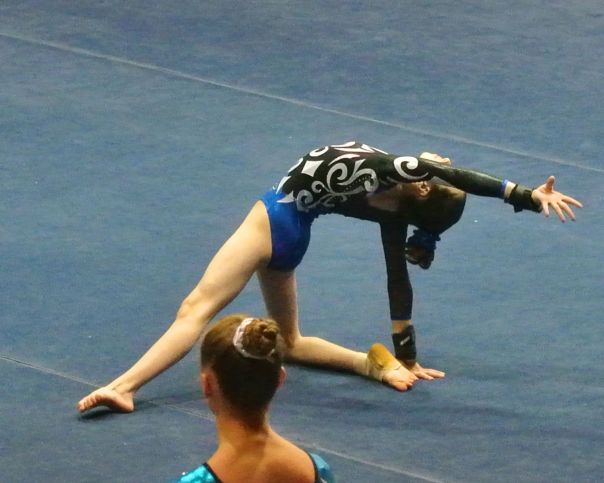 Idaho State Championships 2015 Floor Dance Move - Level 7