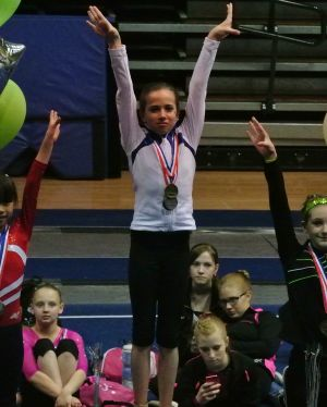 Idaho State Championships 2015 Floor Awards - First - Level 7