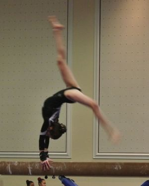 Vegas Cup 2016 Beam Back Walkover - Level 8