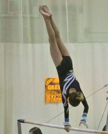 Rose City Challenge 2016 Bars Pirouette - Level 8
