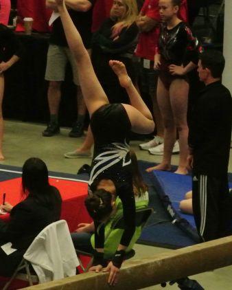 Region 2 Championships 2016 Beam Mount - Level 8