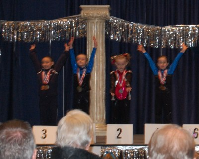 Idaho State Championships 2011 Beam Awards - Level 4