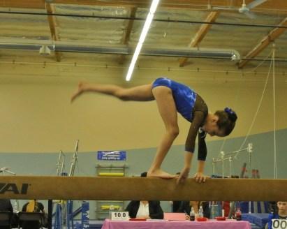 Teddy Bear Classic 2011 Beam Cartwheel - Level 5