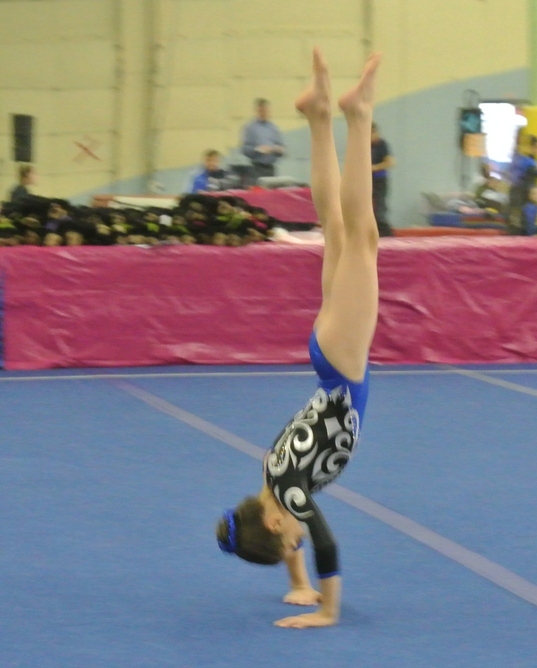 Teddy Bear Classic 2011 Floor Backward Roll to Handstand - Level 5