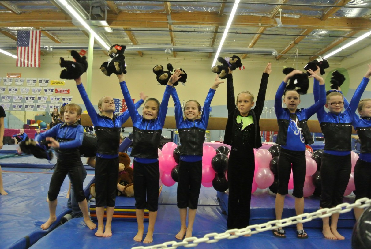 Teddy Bear Classic 2011 All-Around Awards - Fourth Place - Level 5