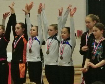Idaho State Championships 2016 Regional Qualifiers - Level 8