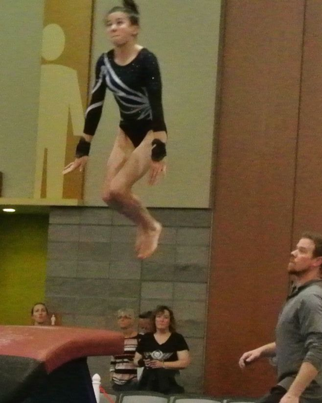 Classic Rock Invitational 2017 My one and only vault photo - Level 8