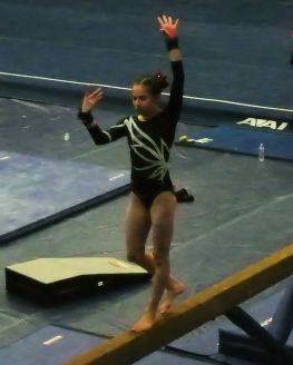 BSU Open 2017 Beam Pose - Level 8