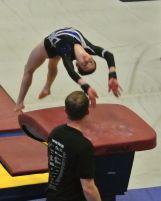 Idaho State Championships 2017 Vault Yurchenko - Level 8