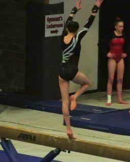 Idaho State Championships 2017 Beam Full Turn - Level 8