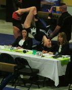 Idaho State Championships 2017 Beam Dismount Back Tuck - Level 8