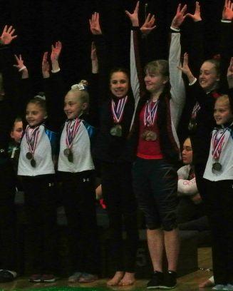 Idaho State Championships 2017 Regionals Qualifier - Level 8