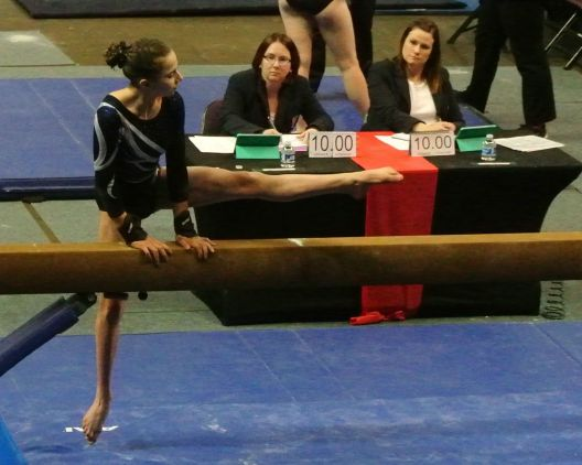 Region 2 Championships 2017 - Beam Mount - Level 8