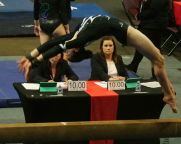 Region 2 Championships 2017 - Beam Back Handspring - Level 8
