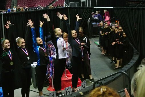 Region 2 Championships - Vault Awards - Eighth Place - Level 8