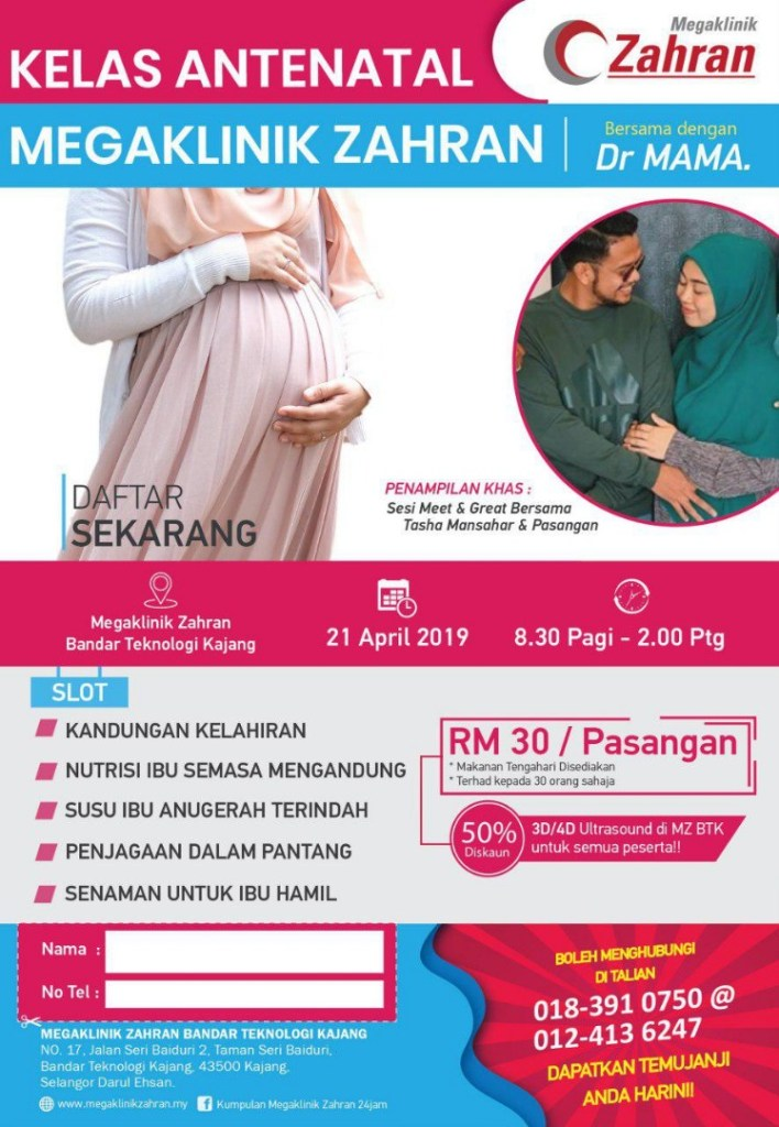KELAS ANTENATAL APRIL 2019
