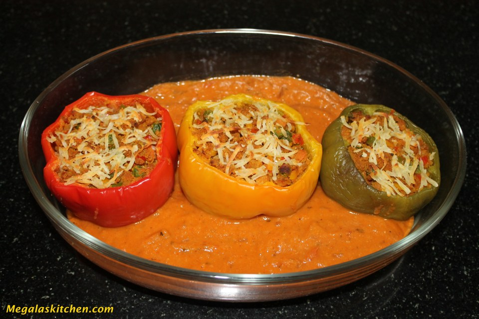 IMG_3738 Stuffed Capsicum in Gravy
