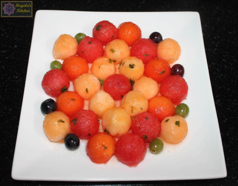 IMG_4238 Melon ball fruit salad
