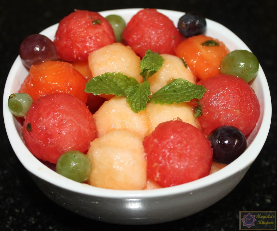 IMG_42490 Melon ball fruit salad