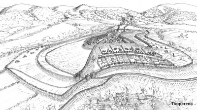 Interpretación del recinto de Mezkirizperro