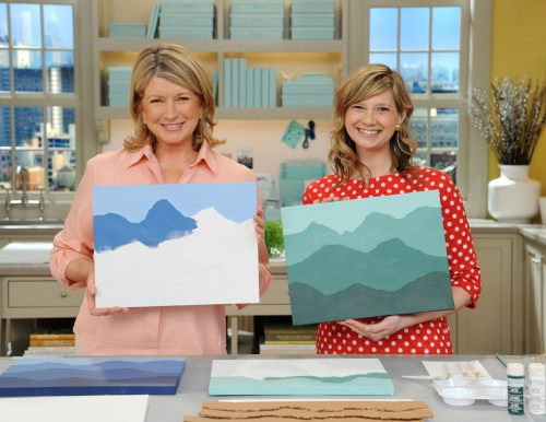 Meg on the Martha Stewart Show
