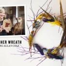 Feather Wreath- Rue Magazine