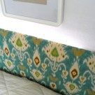 Illuminated Upholstered Floating Headboard- CRAFT + MAKE