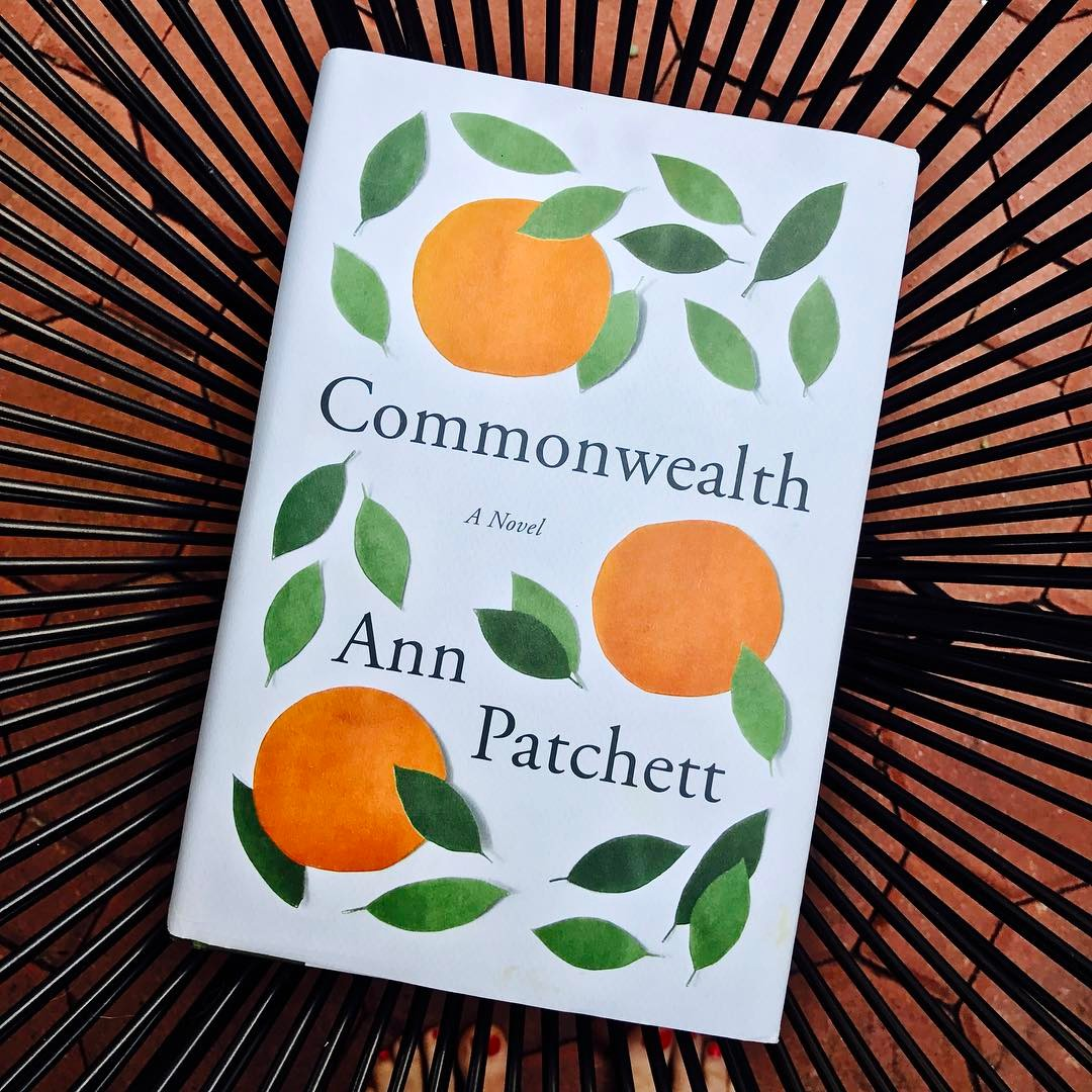 Currently reading Commonwealth by Ann Patchett 🌿🍊🌿