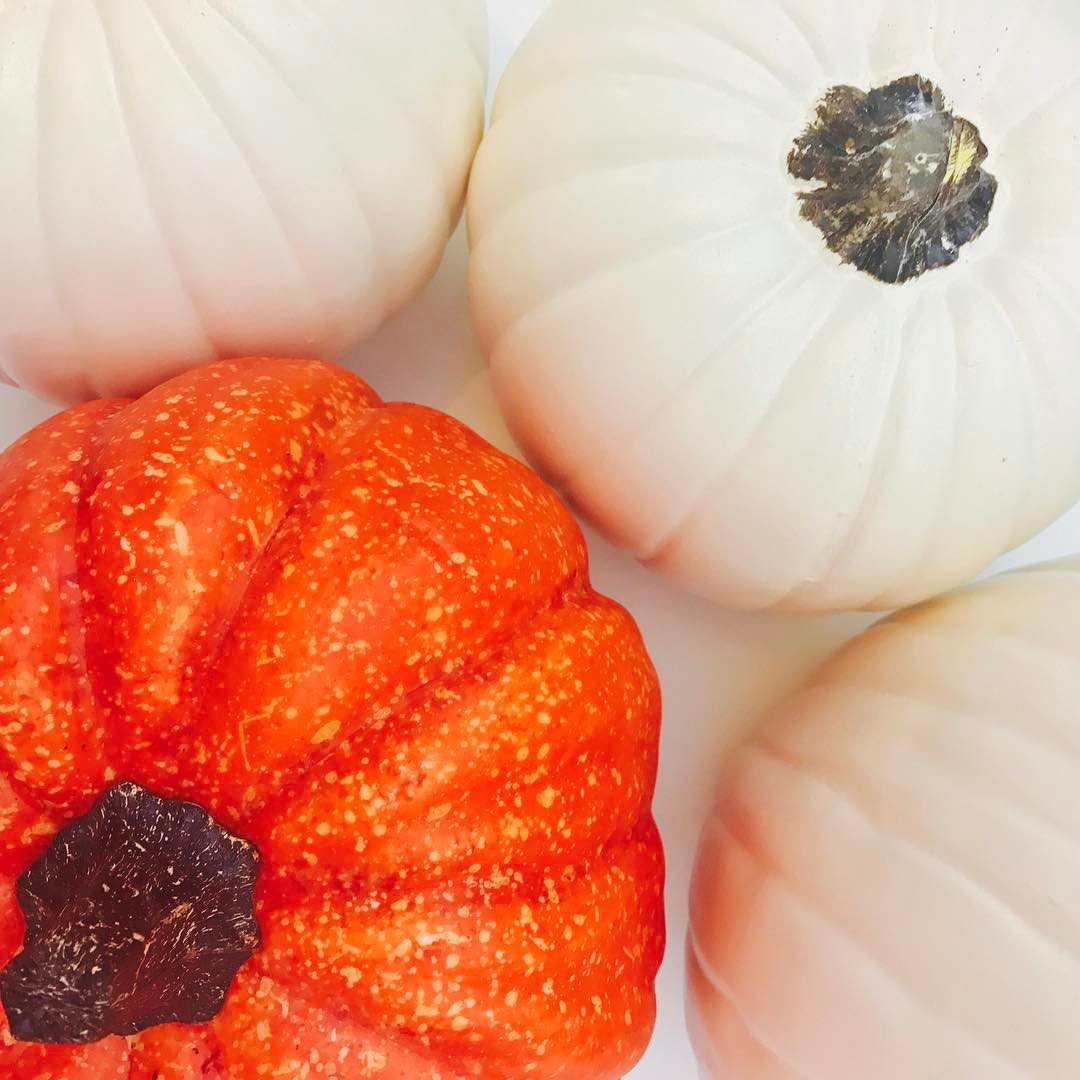 *Feels one cool breeze*  Drops everything & runs to @michaelsstores for ALL the faux pumpkins to make fall DIY videos.