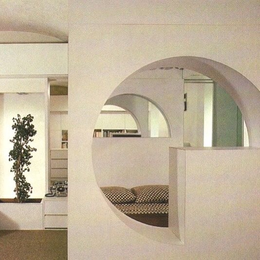 Inspiring Interior: Herbert H Wise & Jeffrey Weiss Living Places, 1976