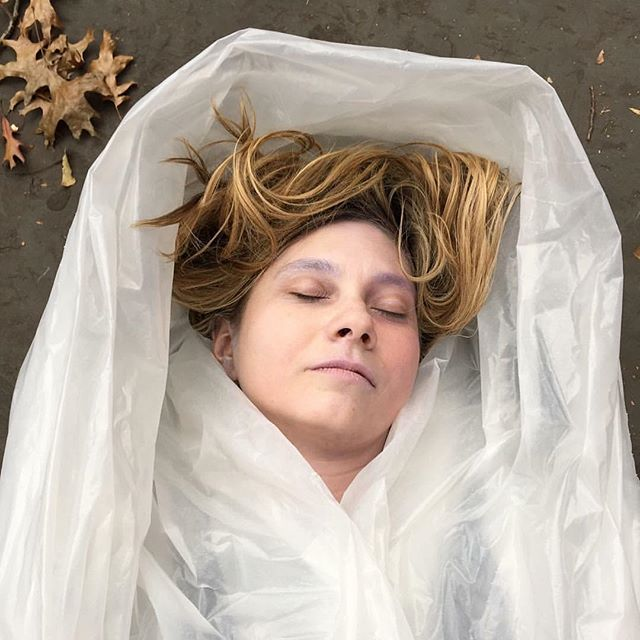 DIY Twin Peaks Laura Palmer costume flashback Friday to Halloween 2015