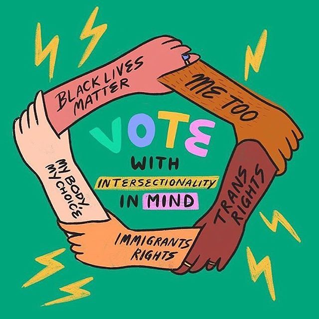 VOTE TODAY 🗳 Vote blue up & down the ballot for people of color, for children in cages, for coverage of pre-existing conditions, for trans youth, for immigrants, for women, for endangered specifies, for climate change, for free elections, for our dignity. 🗳 art by @ashlukadraws