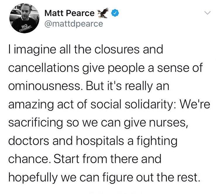 Social solidarity ❤️