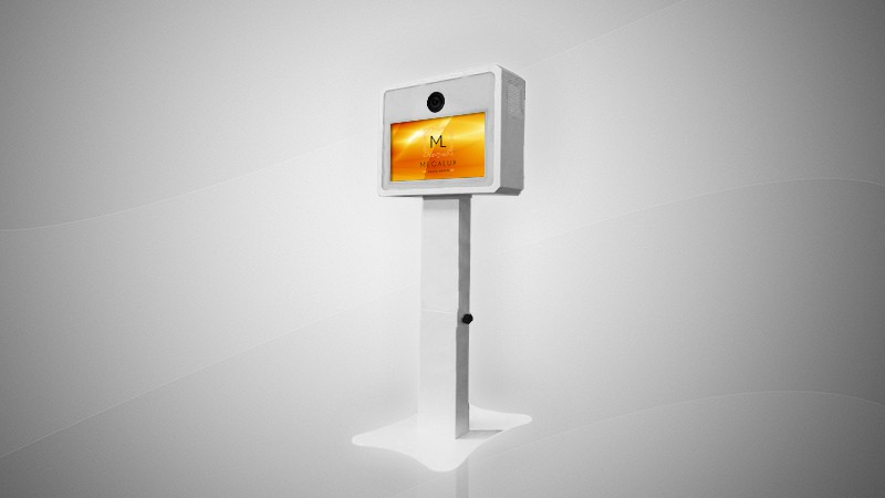 Megalux Photo Booth Rental - Open Air Glow Kiosk