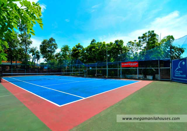 Citta Italia - Luxury Homes For Sale in Bacoor Cavite Amenities Tennis Court