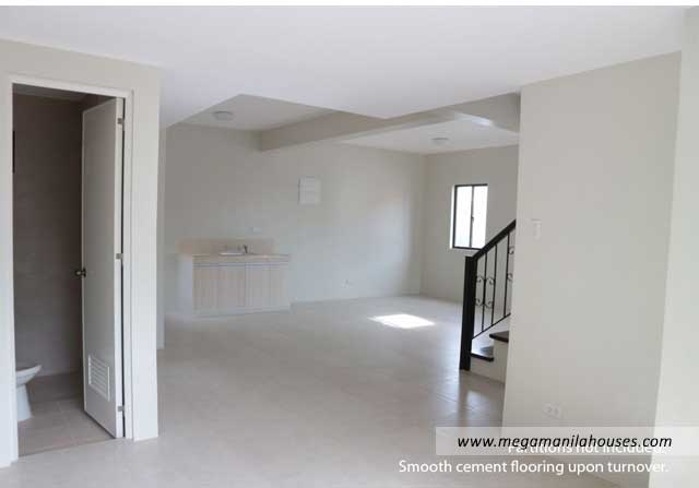 Designer Series 142 at Ponticelli - Luxury Homes For Sale in Ponticelli Bacoor Cavite Kitchen and Living Area
