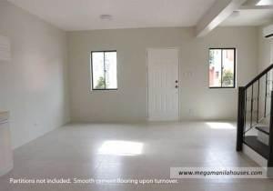 Designer Series 166 at Citta Italia - Luxury Homes For Sale in Citta Italia Bacoor Cavite Turnover Living Area