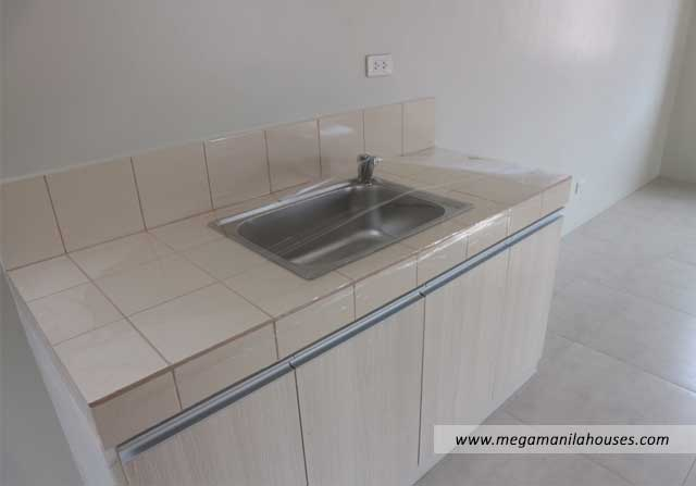 Designer Series 211 at Citta Italia - Luxury Homes For Sale in Citta Italia Bacoor Cavite Turnover Kitchen Sink