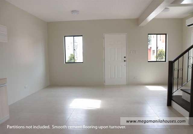 Designer Series 65 at Citta Italia - Luxury Homes For Sale in Citta Italia Bacoor Cavite Turnover Living Area