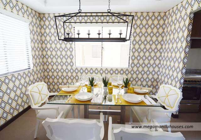 Francesco at Citta Italia - Luxury Homes For Sale in Citta Italia Bacoor Cavite Dressed up Dining Area