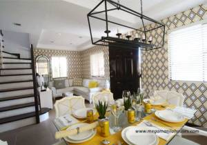 Francesco at Citta Italia - Luxury Homes For Sale in Citta Italia Bacoor Cavite Dressed up Living and Dining Area