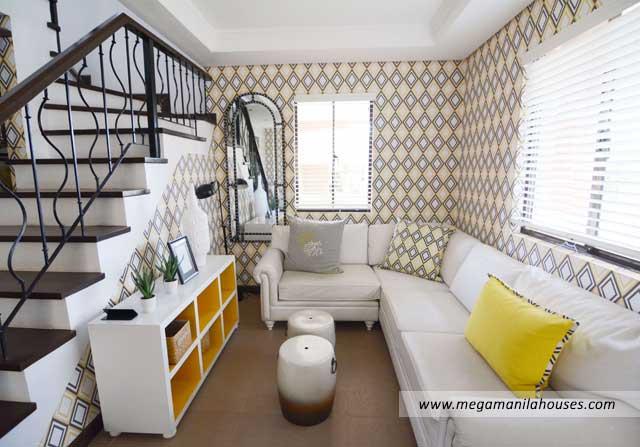 Francesco at Citta Italia - Luxury Homes For Sale in Citta Italia Bacoor Cavite Dressed up Living Area