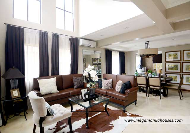 Lladro at Valenza - Luxury Homes For Sale in Valenza Santa Rosa Laguna Dressed Up Living Area